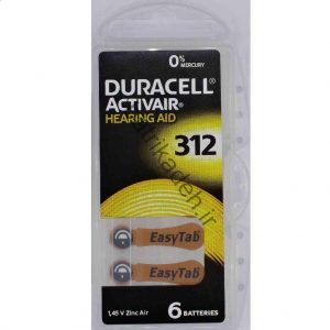باتریهای سمعک در اندازه ۳۱۲: برنده Duracell