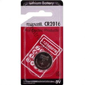 باتری CR 2016 maxell ساخت ژاپن
