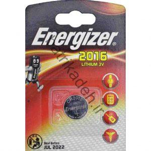 باتری CR 2016 Energizer ساخت آمریکا