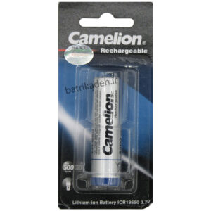 lithium-ion battery 18650 camelion